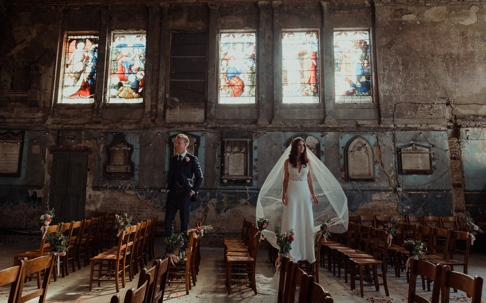 London Asylum Wedding Photographer