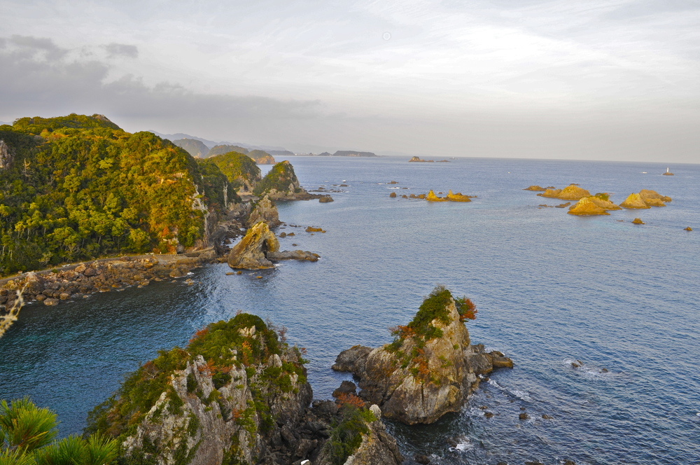 Hatakejiri Bay, also known as 'The Cove', Taiji, Japan.