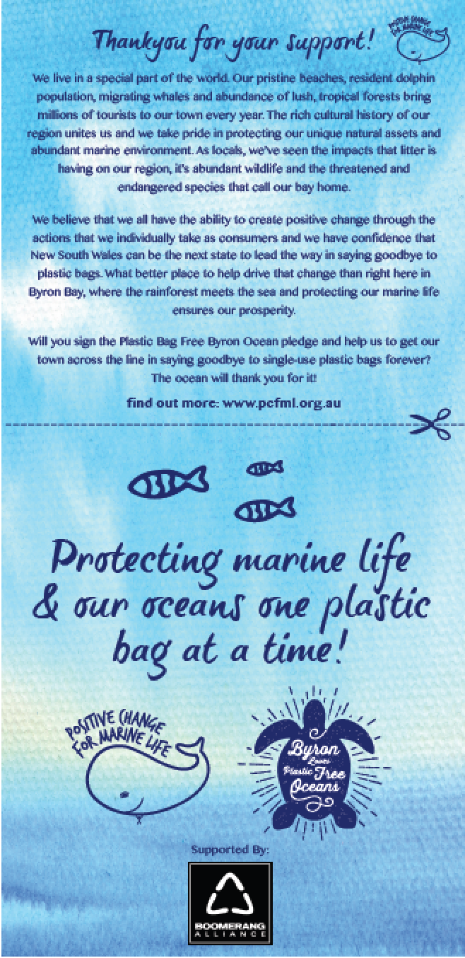 Byron Bay loves marine conservation