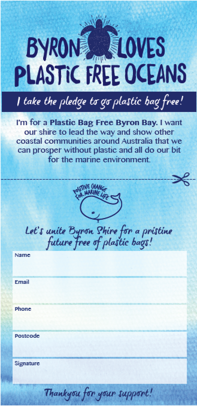 Plastic Bag Free Byron Bay
