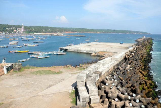 Current port at Vizhinjam