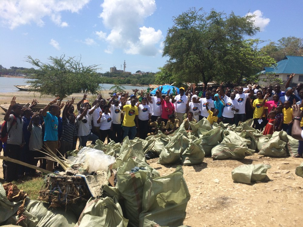 Monthly Beach Clean Up organised by LSBC.