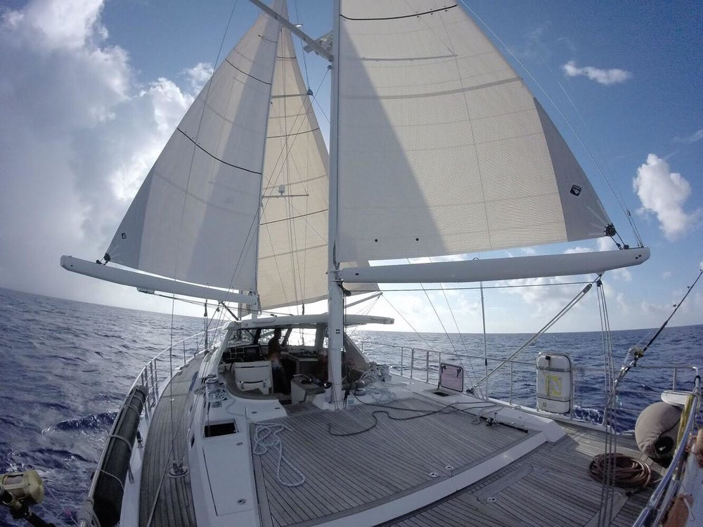 Our home for the next few months, sailing the seas to promote awareness and re-discover what's important.