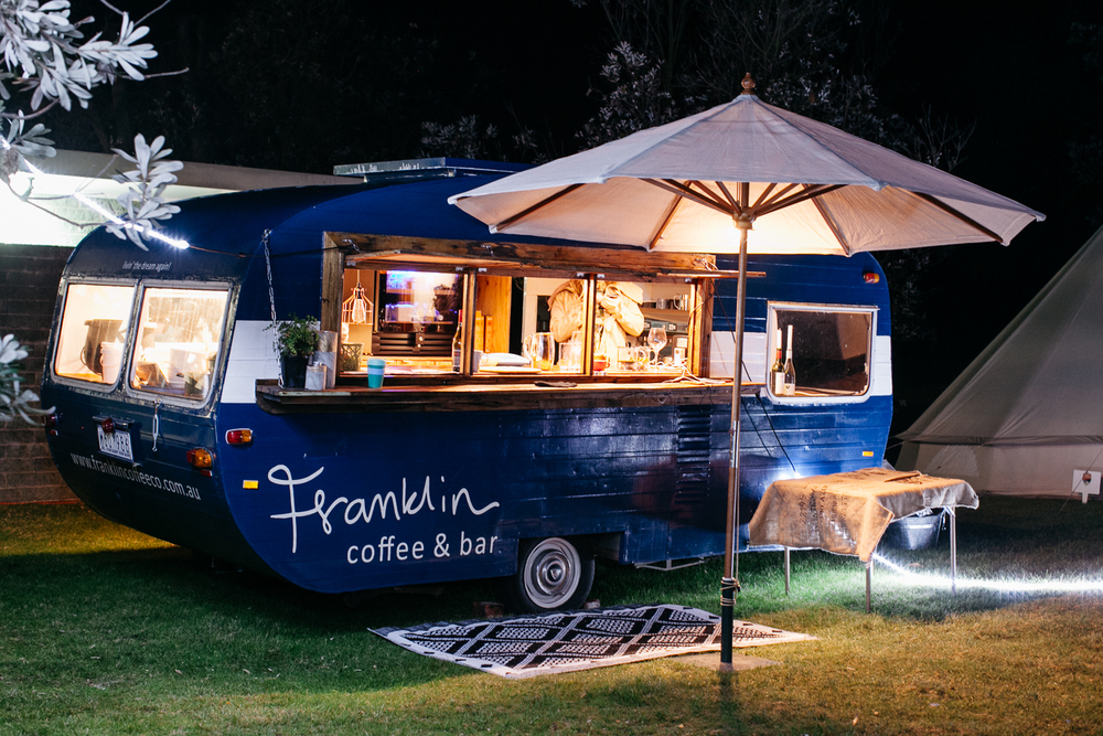 Franklin Bar catered to our every whim: coffee, tea, chai, hot chocolate...
