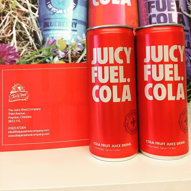 Original Juicy Fuel Cola......... A Cola that is made from fruit juice, a Cola that has no added sugar, a Cola that has no artificial sweeteners, a Cola which has no preservatives and A Cola that is 1 of your 5 a day......... yes, really 😀 #flagship  #healthyoption  #healthydrink  #plasticfree