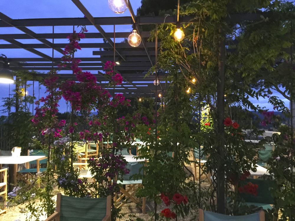 AELAND - restaurante far-exterior-pérgola metalica-trepadoras-iluminación.jpg