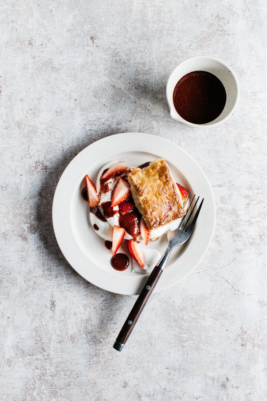 草莓酥餅-修圖後