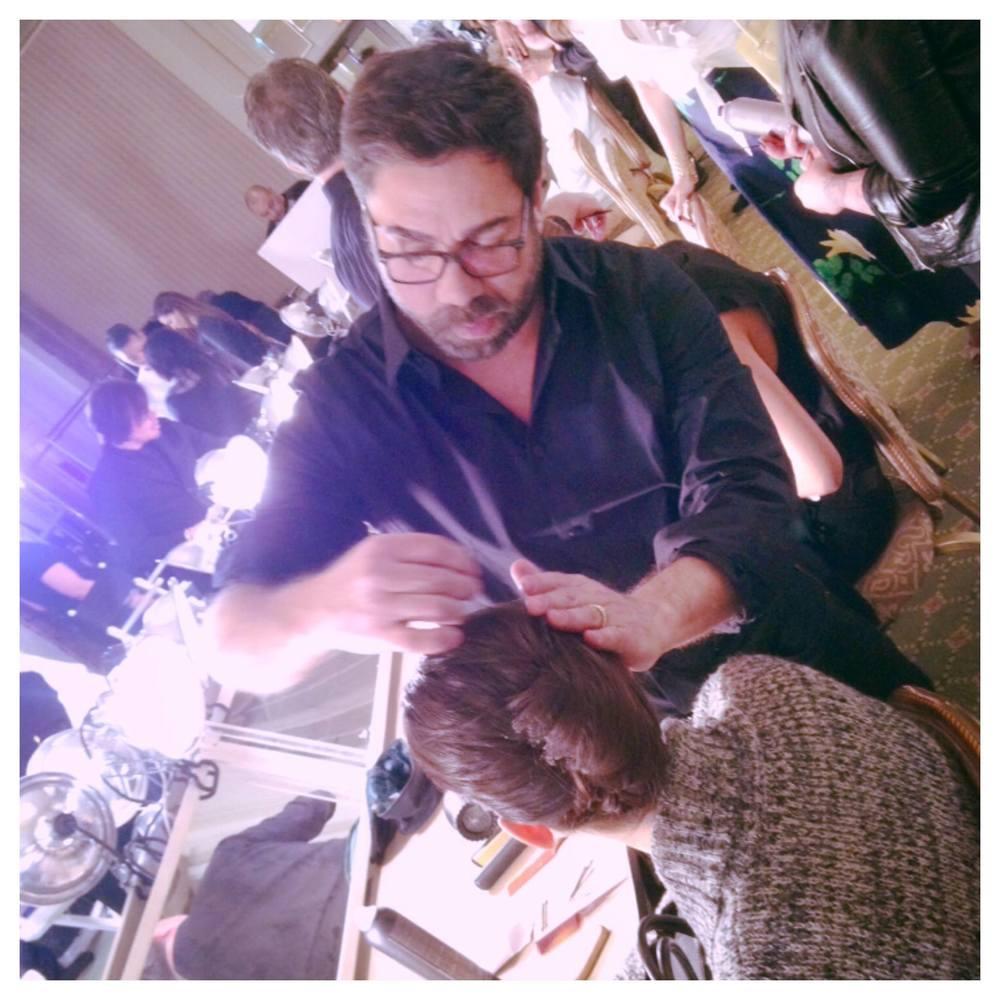 Behind the Scenes - 2015 Oscar de la Renta Runway Show - Crohn's & Colitis Foundation