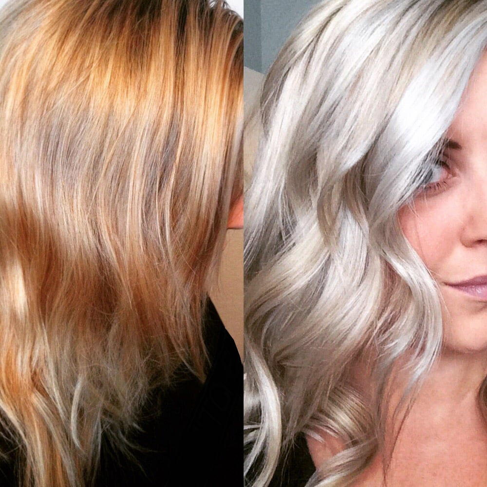 Taking Blonde to the max without sacrificing the health of your hair.   Ready to get your hair back into shape, Call for your appointment.  Midtown salon:   212-586-6482    Flatiron salon:  212-448-0600