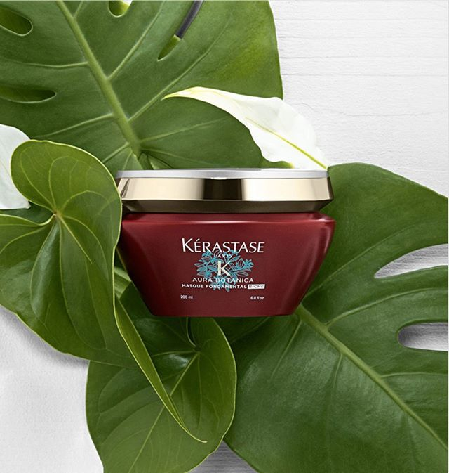 Loving the deeply nourishing Aura Botanica Masque Fondamental Riche from Kérastase. Provides smoothness and frizz control leaving hair with a soft touch and a healthy glow. 98% natural origin ingredients, responsibly sourced Amazonian Brazil Nut Oil and Thai Rice Bran Oil.⠀⠀⠀⠀⠀⠀⠀⠀⠀ .⠀⠀⠀⠀⠀⠀⠀⠀⠀ .⠀⠀⠀⠀⠀⠀⠀⠀⠀ #AuraBotanica #KerastaseTransforms #KerastaseUSA #naturalorigin #responsiblysourced #hairmasque #hairtreatment #riccardomaggioresalon