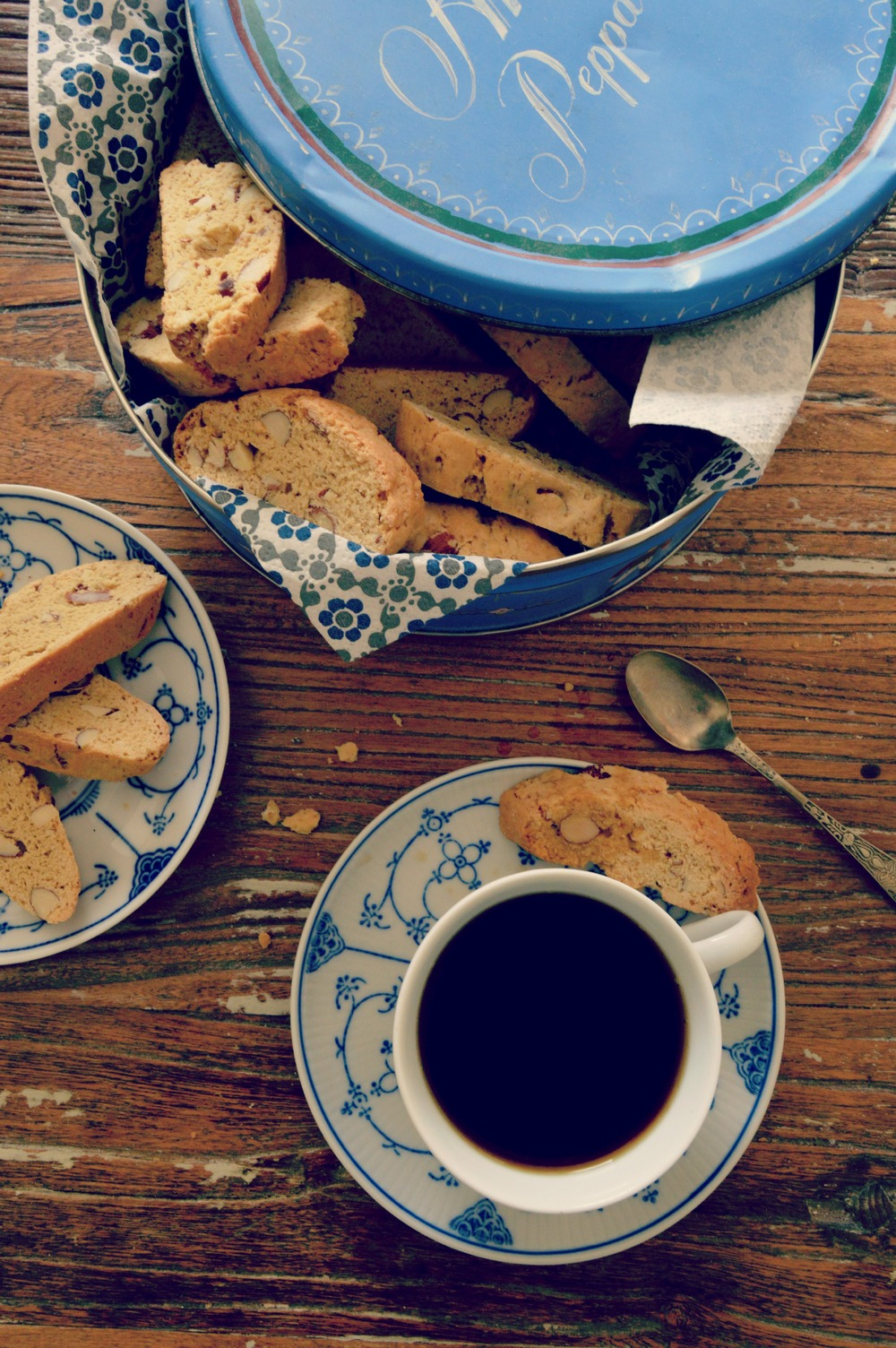 Besotted with biscotti / Food Photography / Rochelle Coote Photography