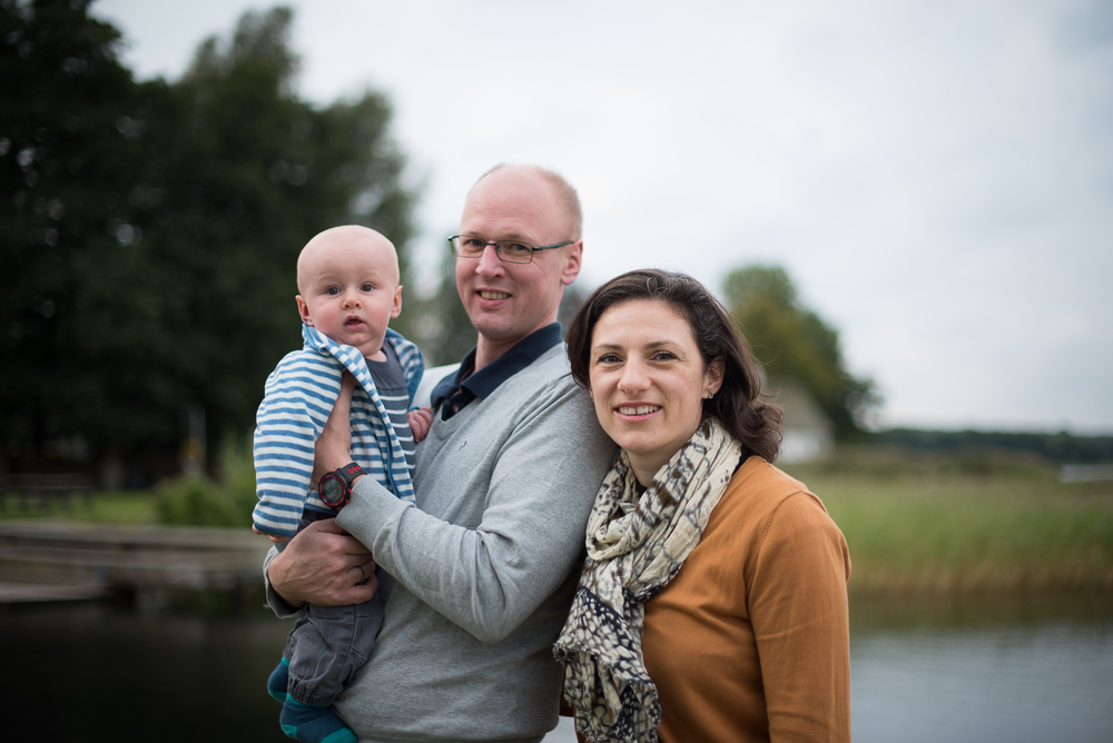 Family Portraits, Esrum Lake, Denmark