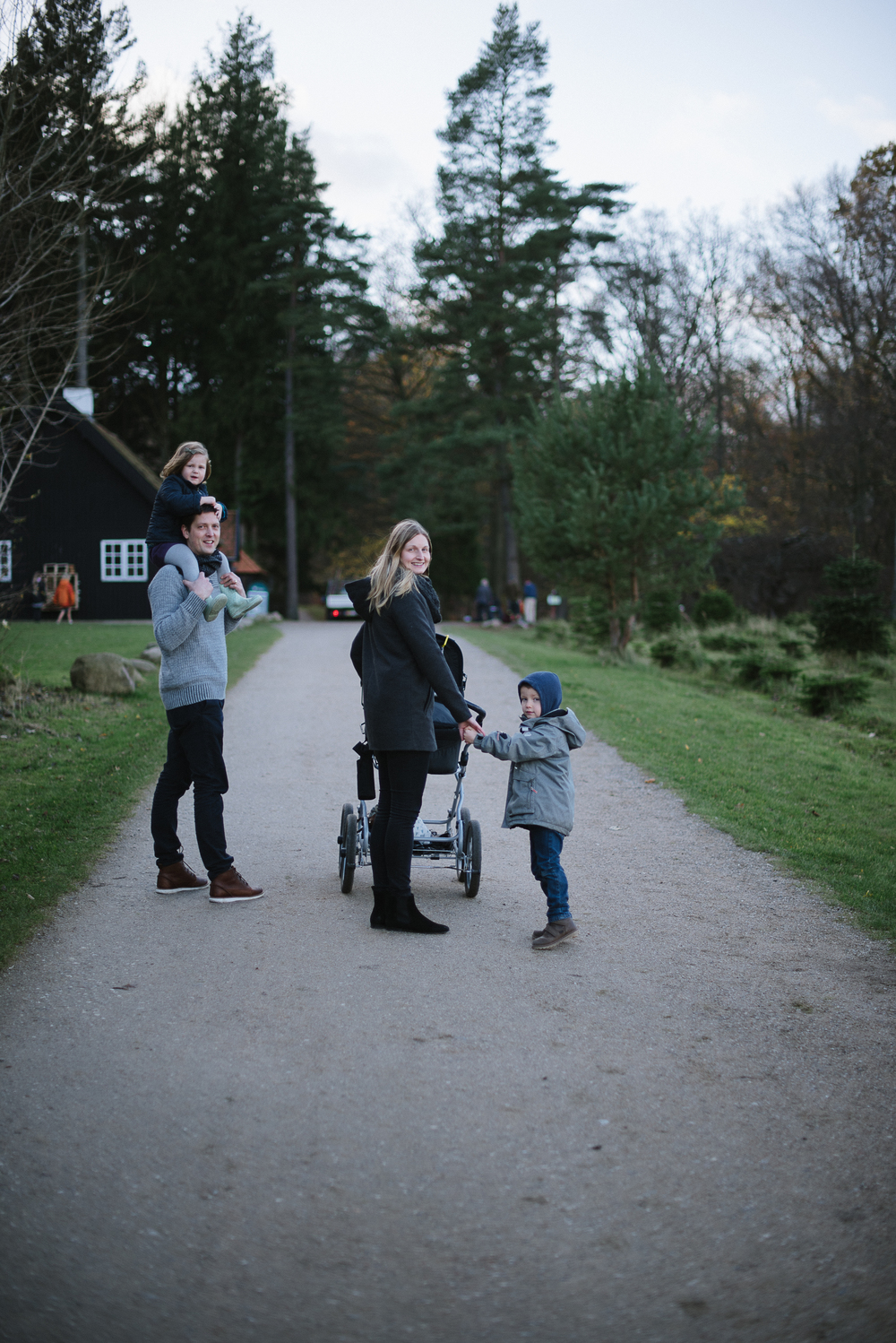 Family Portraits, Winter shoot, Denmark.