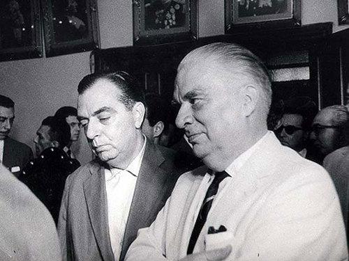O discípulo e o mestre, segundo o próprio discípulo, o irmão Nelson Rodrigues.