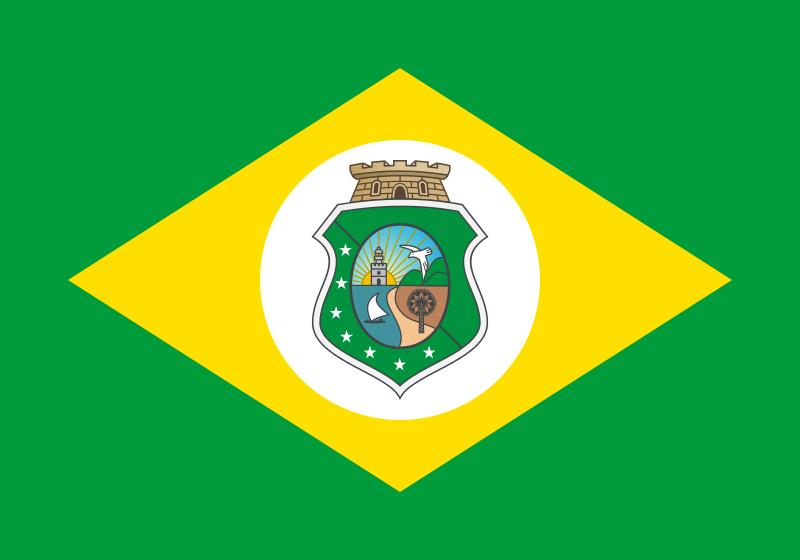 """BANDEIRA DO CEARÁ :::: O Ceará está de parabéns porque além de nos passar as receitas maravilhosas de sua culinária, agora também nos dá, de """"mão beijada"""", uma receita otimista do velho e bom futebol brasileiro."""
