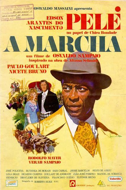 Cartaz do filme Pelé a Marcha