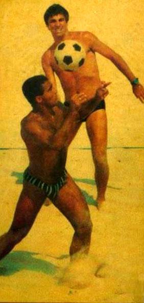Futevôlei com Romário