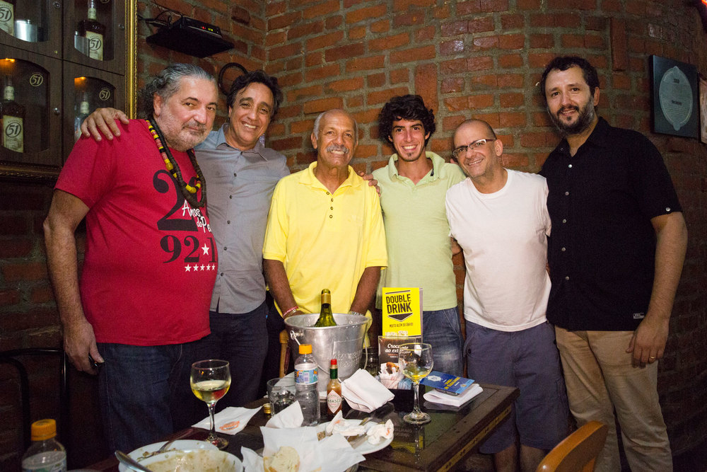 Moacyr Luz, Sergio Pugliese, Junior, André Mendonça, Marcelo Tabach e Daniel Perpétuo