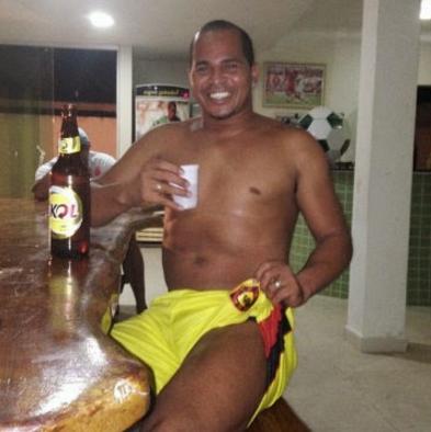 O atacante Aloisio não esconde de ninguém sua admiração por cerveja