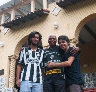 Ivo Teixeira, Adalberto e André Teixeira.