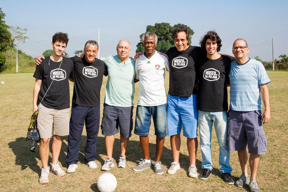 Daniel Planel, Itiro Tanabe, Guilherme Careca, Denílson, Sergio Pugliese, André Mendonça e Marcelo Tabach