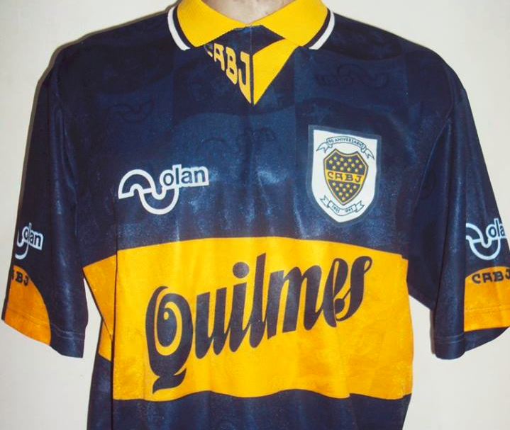 Camisa do Boca Juniors, de Maradona