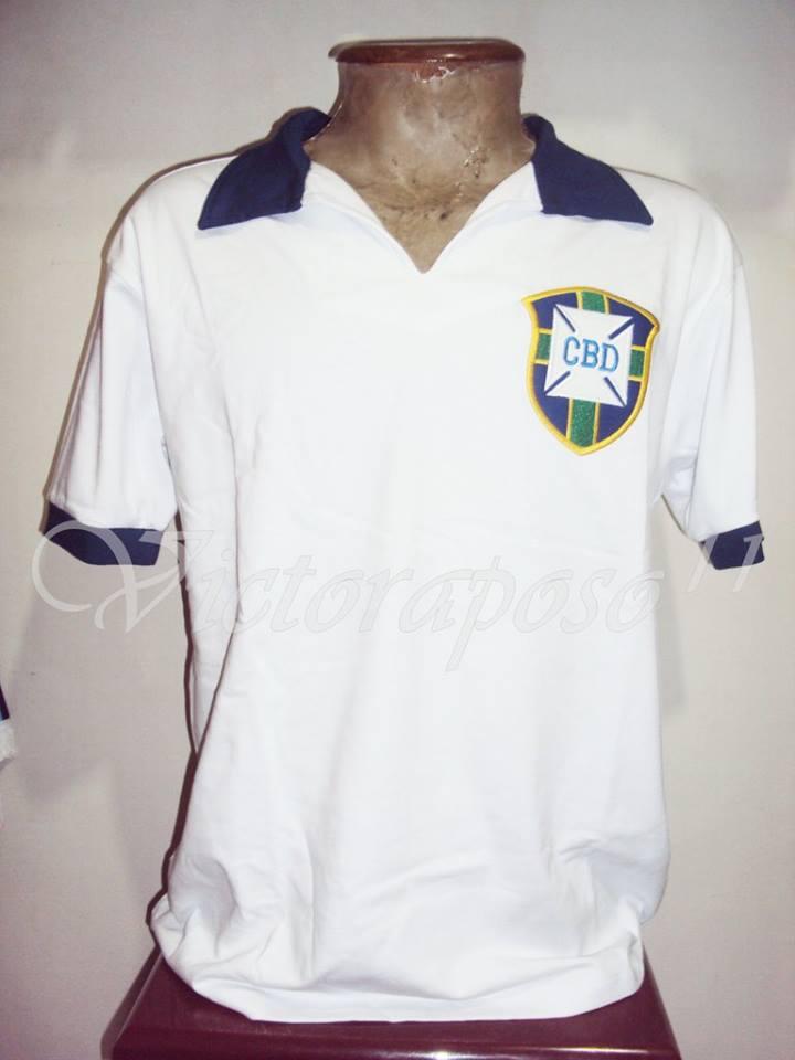Camisa de Zizinho, na Copa de 1950