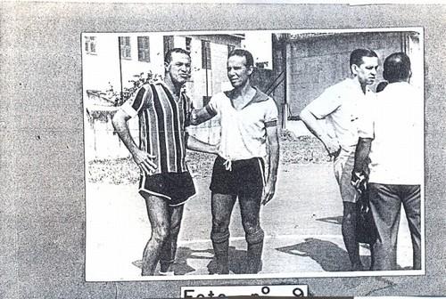 Defendendo o Marista São José, Zagallo enfrentou ninguém menos que Ademir Menezes