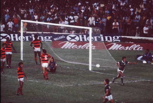Gol do Palmeiras contra o Flamengo pelo Brasileiro de 79
