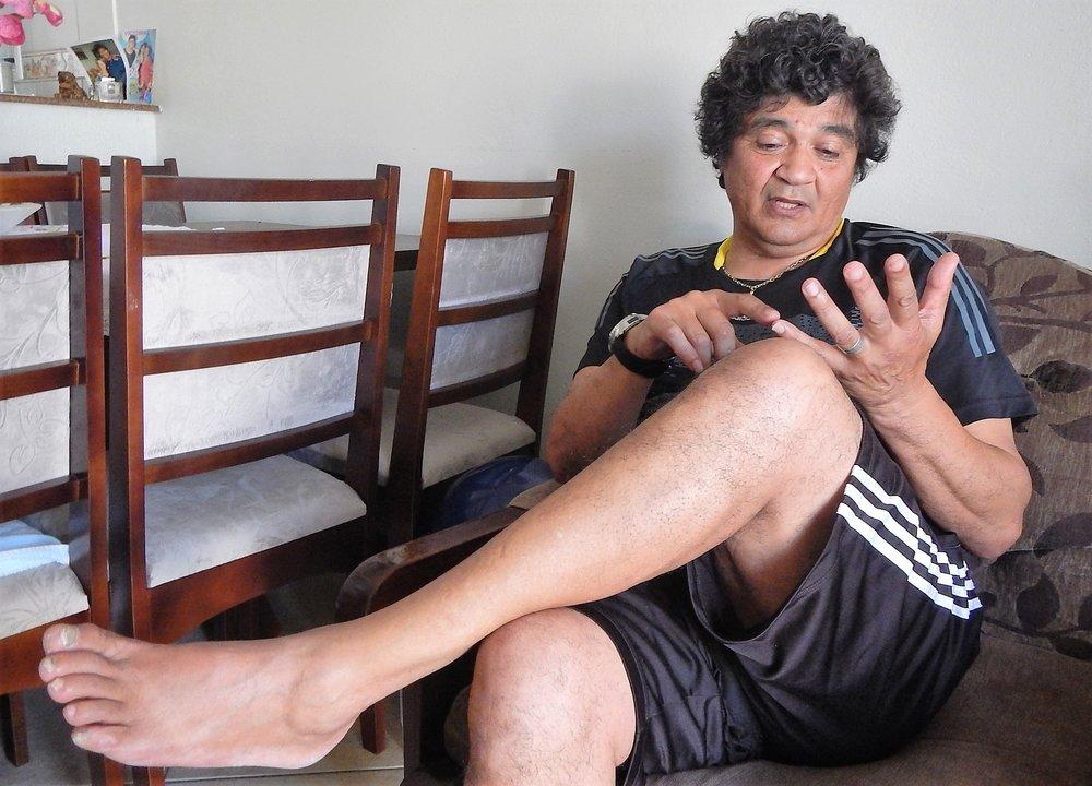 Bolívar acredita que contusão no tornozelo esquerdo impediu que ele fosse convocado para a seleção brasileira e da Copa de 78.