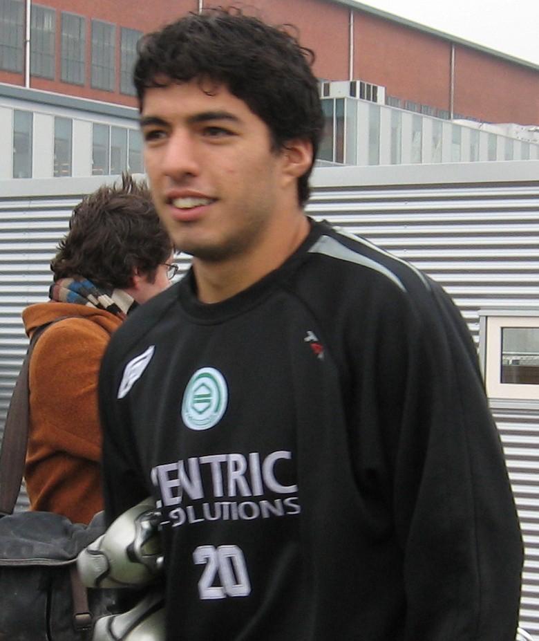 Suárez, ainda no Groningen.