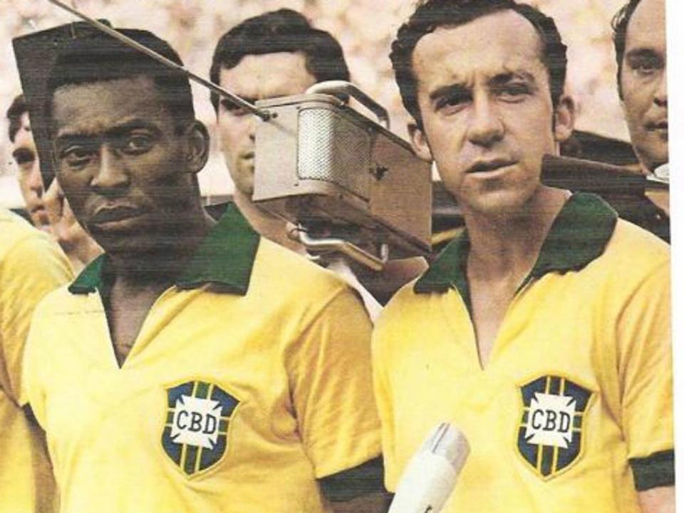"""""""A tabelinha de Pelé e Tostão confirma a existência de Deus"""". - Armando Nogueira (Foto: Reprodução Internet)"""