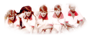 Time Mirim do Águas Virtuosas - 1966. Na foto:Andrezinho, Zé Maria, Xepinha, Rubens Nélson e Roberto