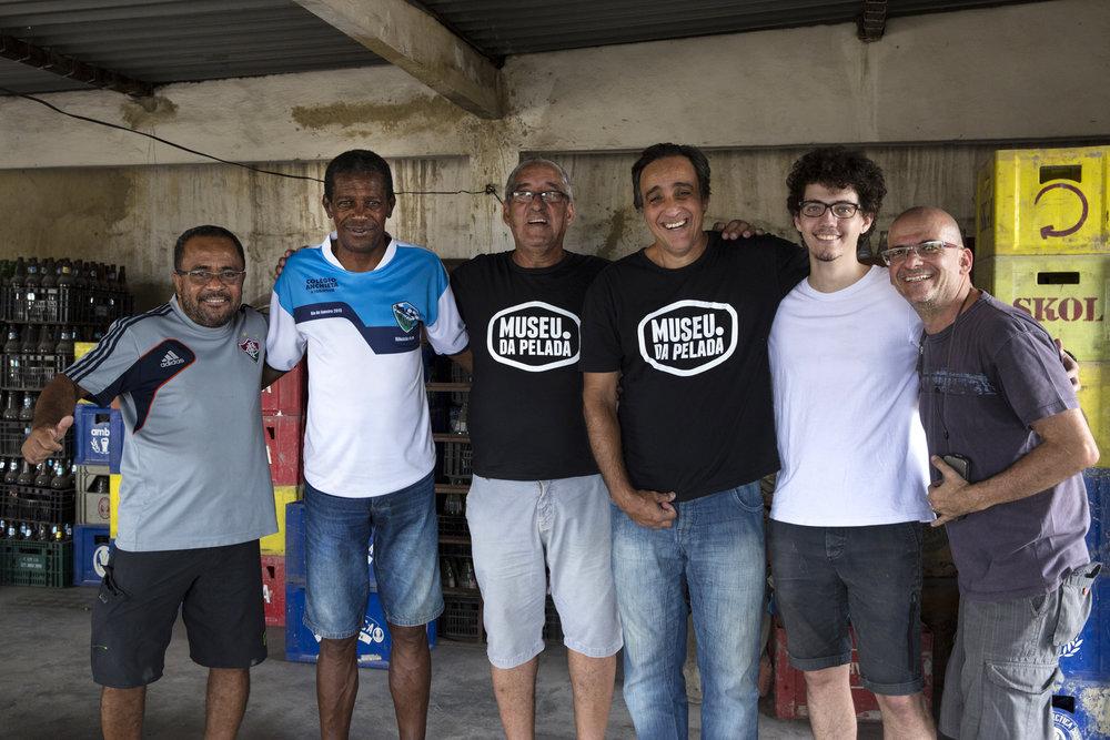 Julinho, Marco Antônio, Evaldo Santana, Sergio Pugliese, Daniel Planel e Marcelo Tabach