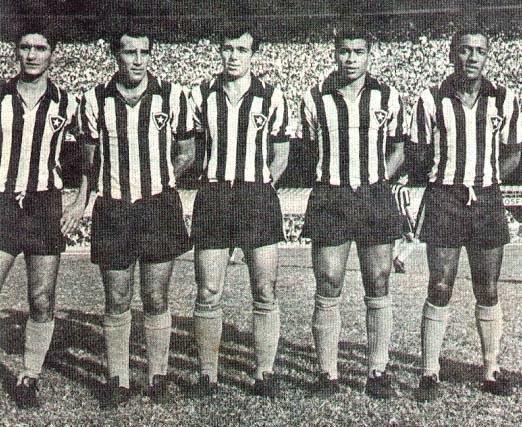 Rogério, Gerson, Roberto Miranda, Jairzinho e PC Caju