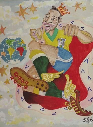 Pelé por Otelo (Foto: reprodução)