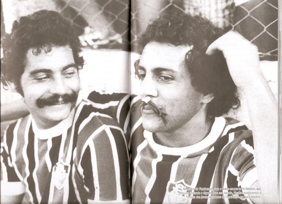 Riva e Zé Roberto no banco de reservas