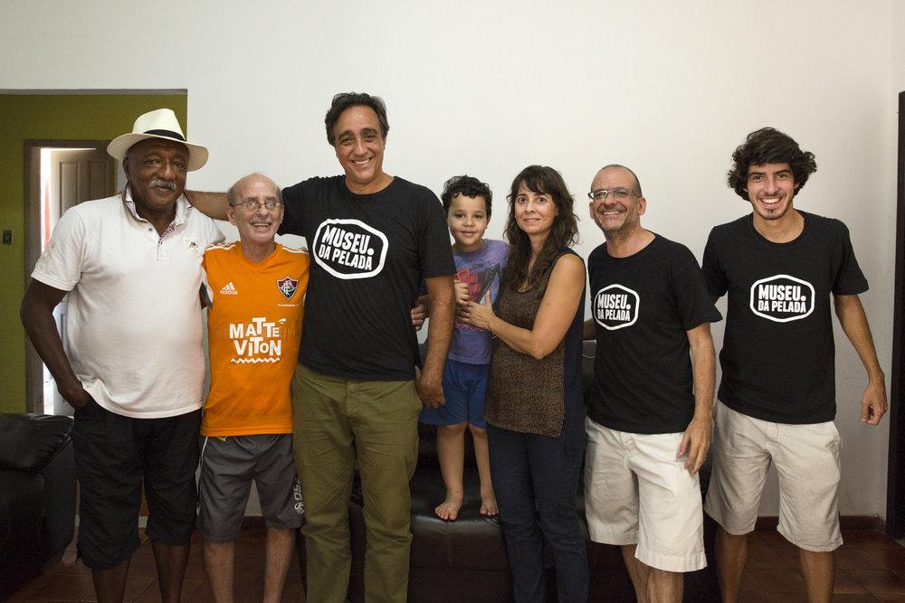 PC Caju, Gilson Gênio, Sergio Pugliese, Pedro,Simone Marinho, Marcelo Tabach e André Mendonça