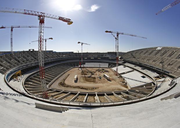 Nova casa do Atlético de Madrid
