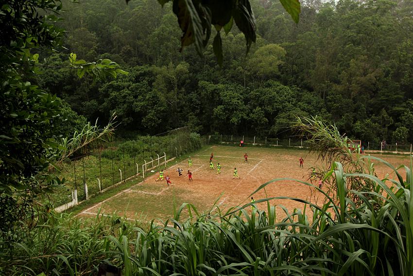 Campo do Flor do Morro, Zaíra, Mauá - SP (Foto: Rodrigo Pinto)