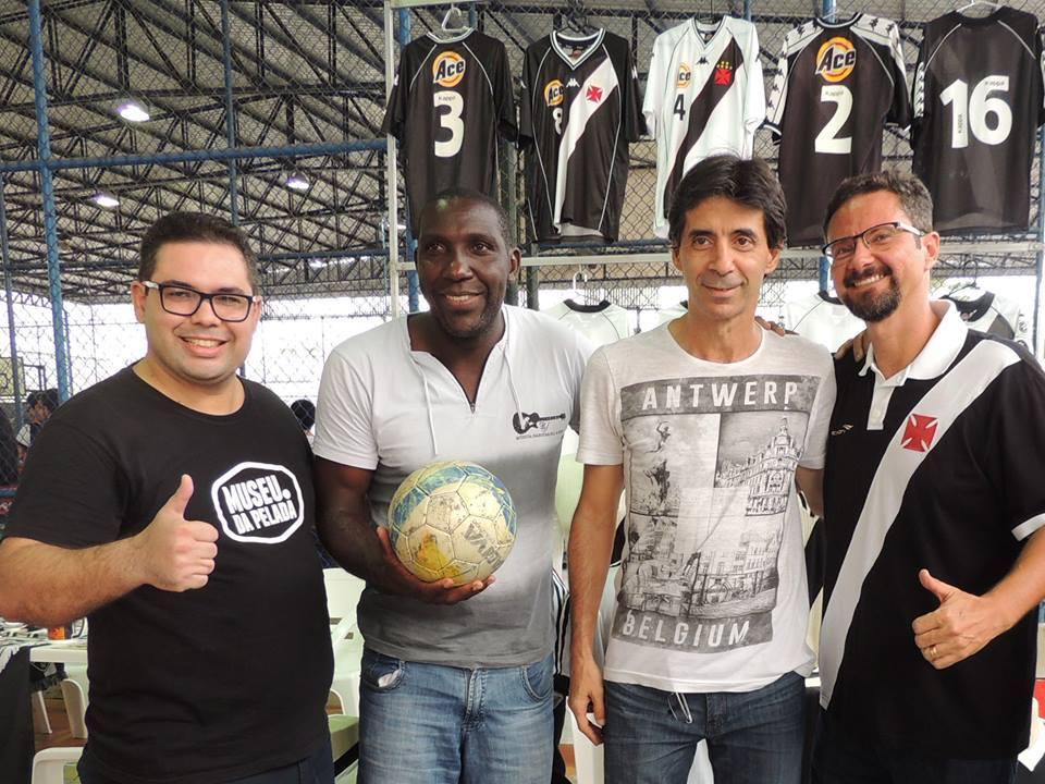 Wesley Machado, Odvan, Mauro Galvão e Ricardo Antônio (Divulgação)