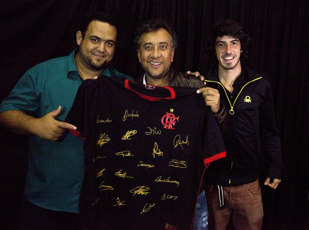 Antônio, Paulinho e André