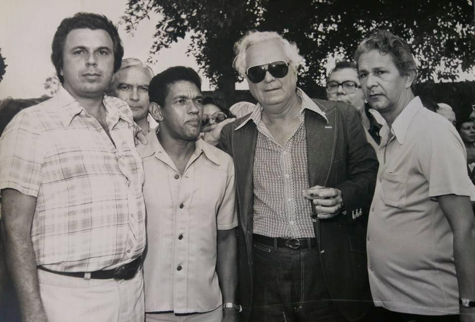 Luiz Fernando, Garrincha e Charles Borer