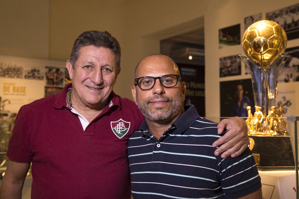 Romerito e Marcello Pires