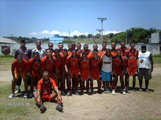 O time do Jovem Fla, marcou época em São Gonçalo