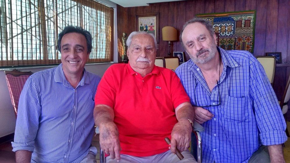 Sergio Pugliese, Cony e Guillermo Planel
