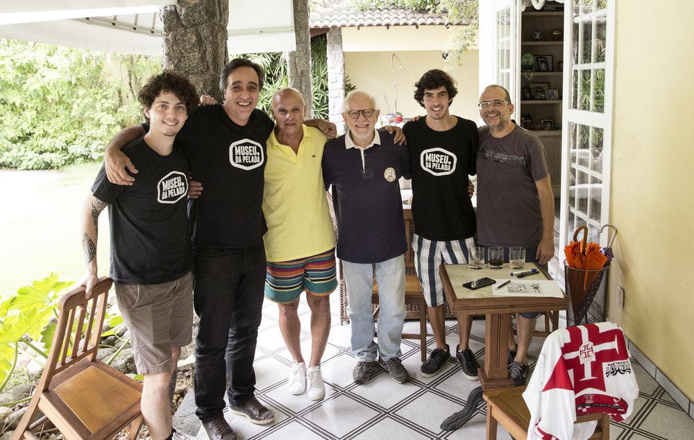Daniel Planel, Sergio Pugliese, Dé Aranha, Edson Mauro, André Mendonça e Marcelo Tabach