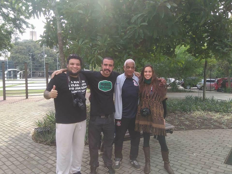 Jhonny Jamaica, Paulo Escobar, Aguinaldo Moreira e Ruth Bessa.