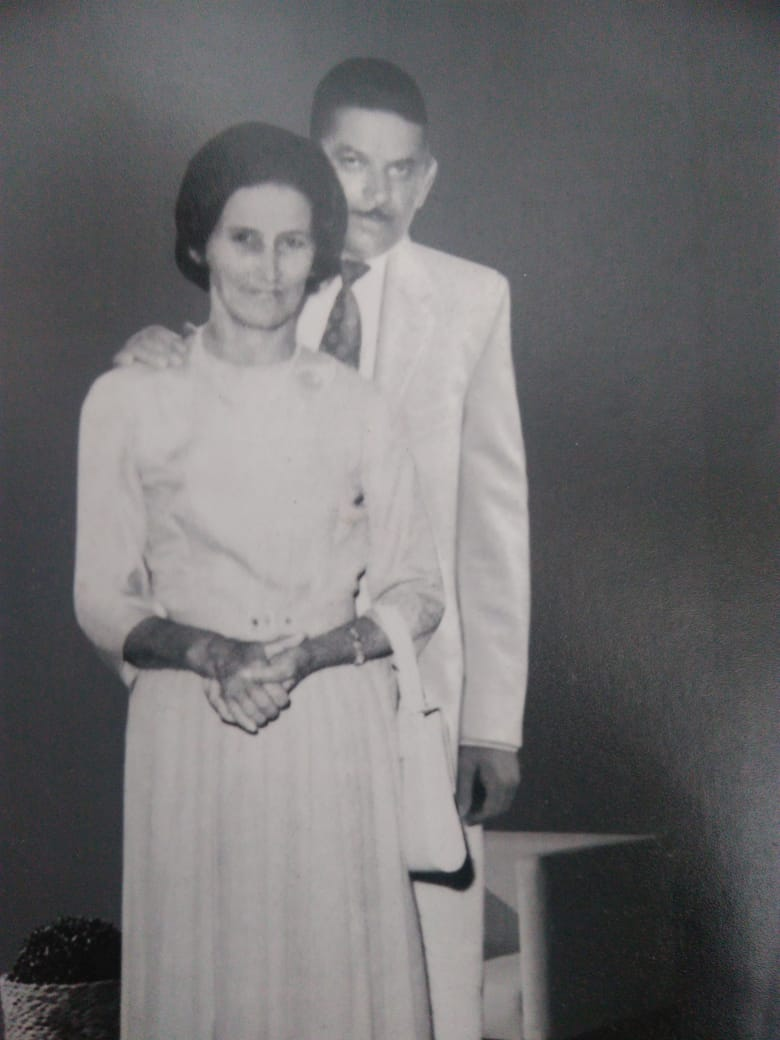 Seu Bidinho e dona Veriana