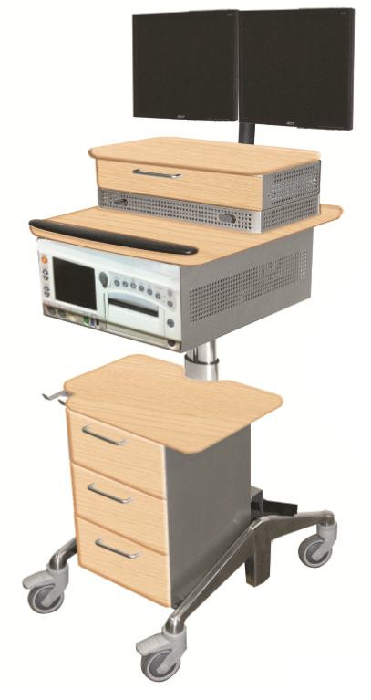 Fetal Monitor Cart